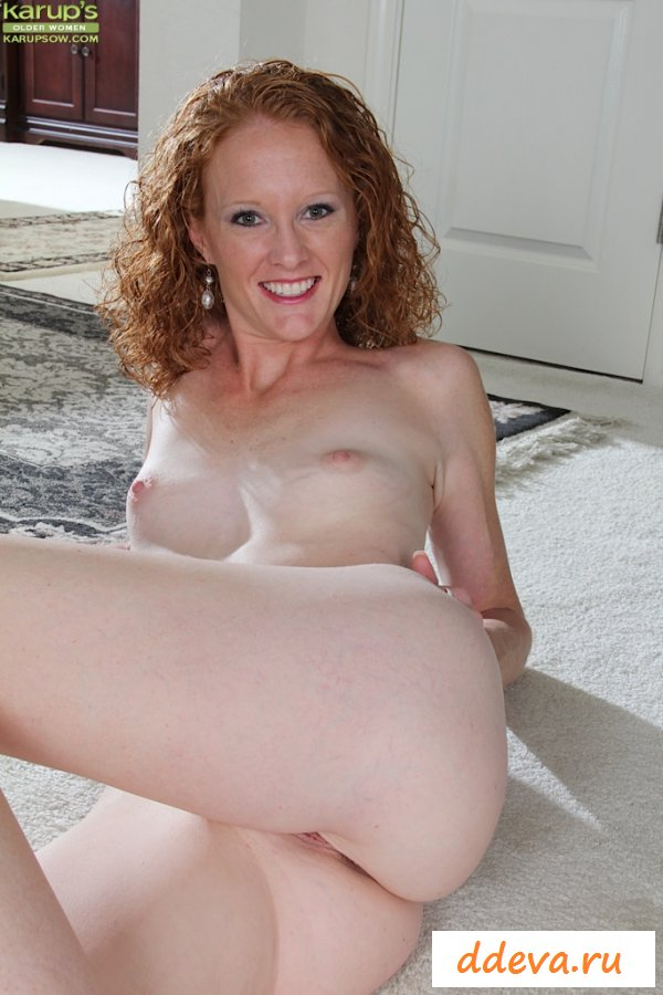 Curly hair mature nude women